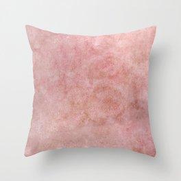 Blushful, Bashful Throw Pillow