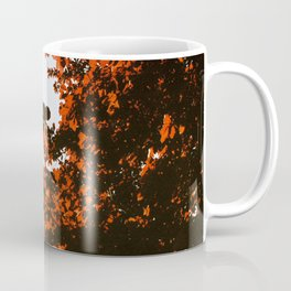 Red Leaf Monster Coffee Mug