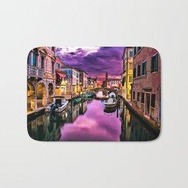 Venice, Italay at sunset Bath Mat