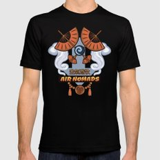 Avatar Nations Series - Air Nomads Mens Fitted Tee Black MEDIUM