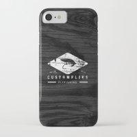 custom iPhone & iPod Cases featuring Custom Flies by Kristian Boserup