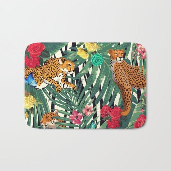 tropical wild  Bath Mat