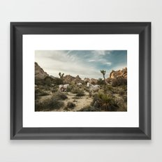 Joshua Tree 2 Framed Art Print