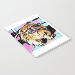 Pekingese Cartoon photo Notebook
