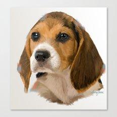 Beagle Pup Canvas Print