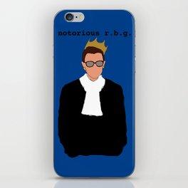 Notorious R.B.G. iPhone Skin