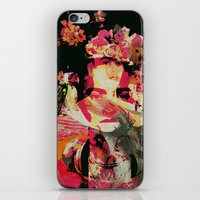 frida iPhone & iPod Skins featuring Frida by Fernando Vieira