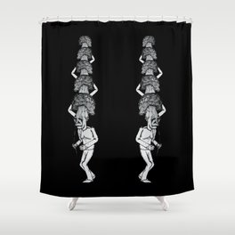 A Walk in the Park v3 Shower Curtain