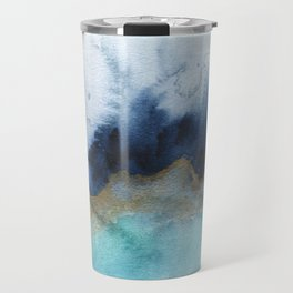 Mystic abstract watercolor Travel Mug