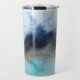 Mystic abstract watercolor Travel Mug
