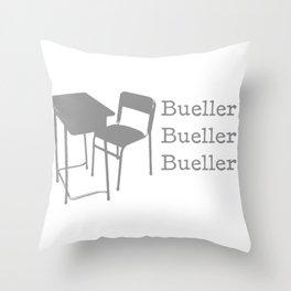 Bueller Throw Pillow