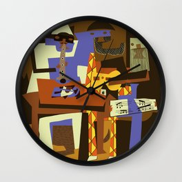 Picasso - The Musician Wall Clock