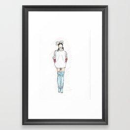 mod. Framed Art Print