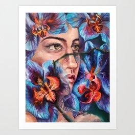"""Dauntless"" Painting Art Print"