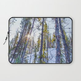 Sunset in the forest Laptop Sleeve