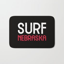 Surf Nebraska Bath Mat