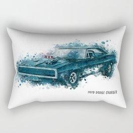 1970 Dodge Charger Rectangular Pillow