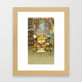 Kepler the Scribe Framed Art Print