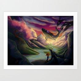 The Night-bringer Art Print