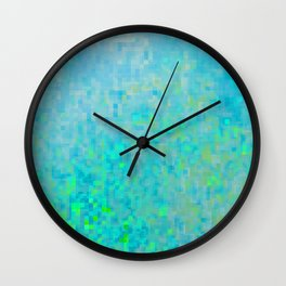play of light .blu Wall Clock