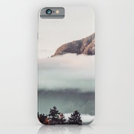 Mt Cloudy iPhone Case