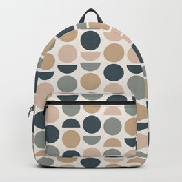 Abstract Geometric Pattern Backpack