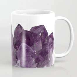 Amethyst Crystal Bouquet Coffee Mug