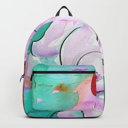 Abstract Nude Goddess 11h by Kathy Morton Stanion Backpack