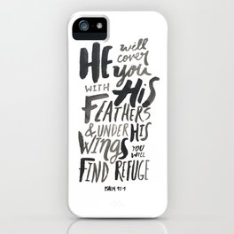 Psalm 91: 4 iPhone Case