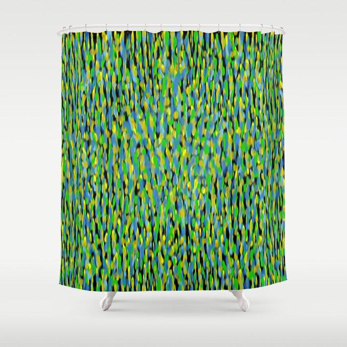 Globular Field 2 Shower Curtain