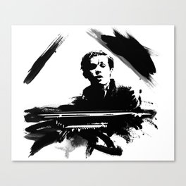 Glenn Gould Canvas Print
