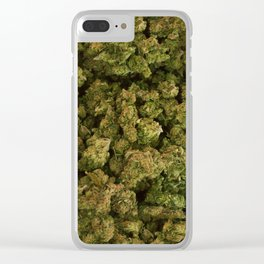 Cannabis Buds Clear iPhone Case