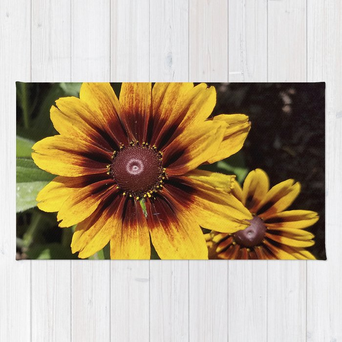 Really Radiant Rudbeckia Rug