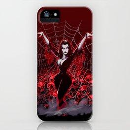 Web of Vampira iPhone Case