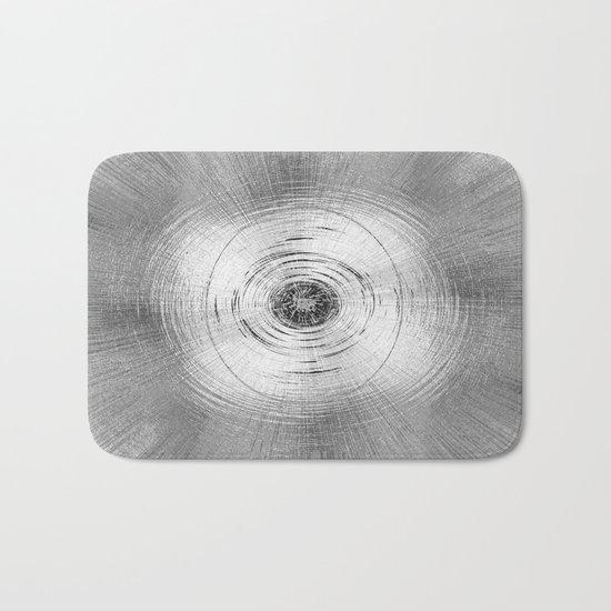 Metallic Swirl Bath Mat