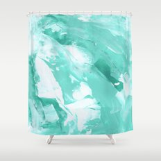 Abstract 1007 Shower Curtain