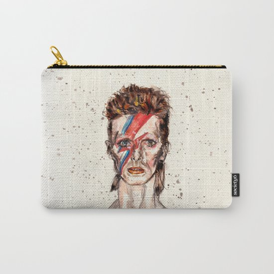Bowie Inspired David Carry-All Pouch