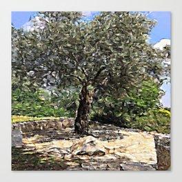 Tree of Geometry Canvas Print