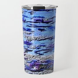 Blue Dream Abstract Painting  Travel Mug