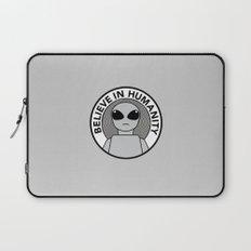 Believe in Humanity Laptop Sleeve