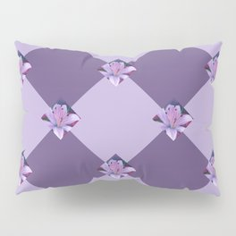 Lavenders and Diamonds Pillow Sham