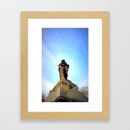 The Turning Sky Framed Art Print