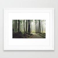 return Framed Art Prints featuring Return by Tyler Forest-Hauser