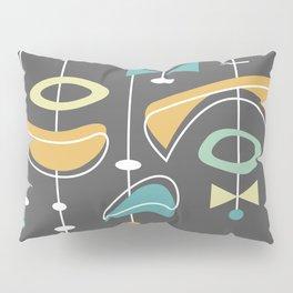 Swank Mid Century Modern Abstract Pillow Sham