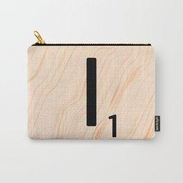 Scrabble Letter I - Large Scrabble Tiles Carry-All Pouch