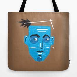 Primitive Face Tote Bag