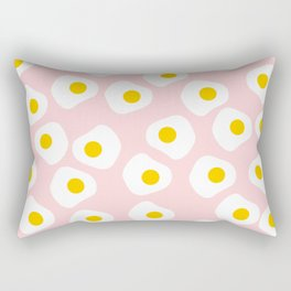 Cute Fried Eggs Rectangular Pillow
