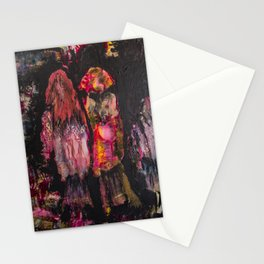 Contemplation : Three Figures Stationery Cards