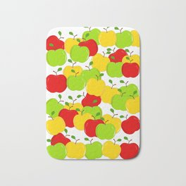 Bunches Of Apples Bath Mat