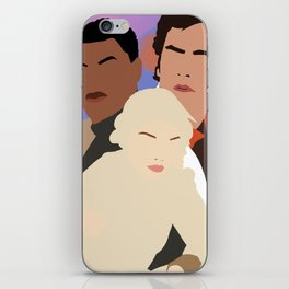 the new trio iPhone Skin